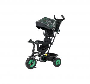 Happy Dino Üç Tekerli Bisiklet Yeşil