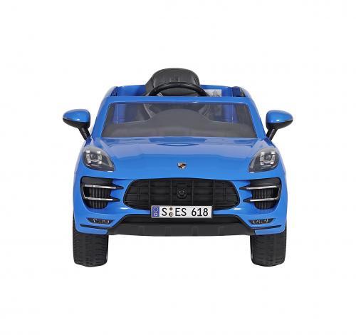 Porsche Macan Akülü Araba Mavi