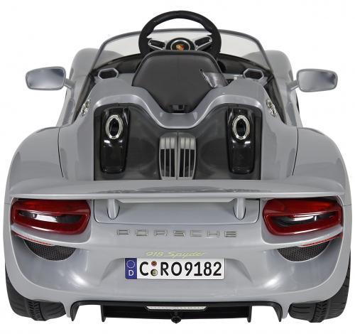 Porsche Spyder Akülü Araba Gri
