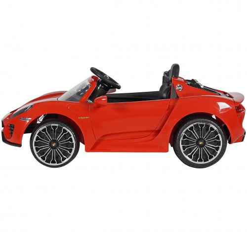 Porsche Spyder Akülü Araba Kırmızı